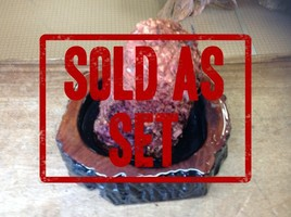 WE SELL LIVE BURLS WITH BOWLS! A GREAT GIFT!