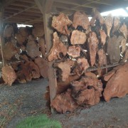 REDWOOD SLABS EVERY THICKNESS