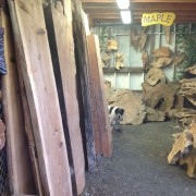 HUGE REDWOOD SLABS 7ft lng AND UP