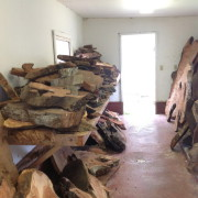 ROOMS OF REDWOOD SLABS FOR YOUR PLEASURE