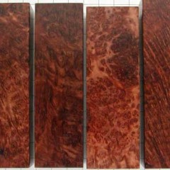 LACE, CURLY, BIRDSEYE, FAN REDWOOD EXAMPLES
