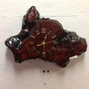 artisan wood clocks