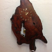 buy wooden clocks made on-site