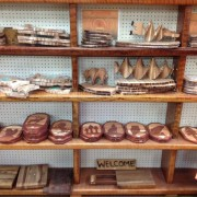 Orick, CA, handcrafted items made on-site